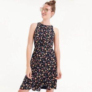 Jcrew Mercantile Ruched-waist Dress Vintage Floral
